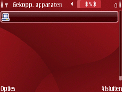 Nokia E63 - Bluetooth - Headset, carkit verbinding - Stap 10