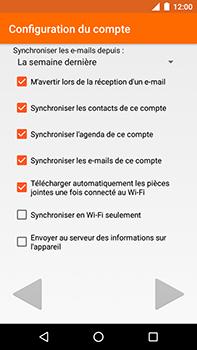 Motorola Moto E4 Plus - E-mails - Ajouter ou modifier votre compte Outlook - Étape 10
