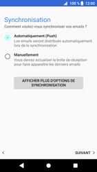 Sony Xperia XZ1 - E-mail - Configuration manuelle - Étape 20