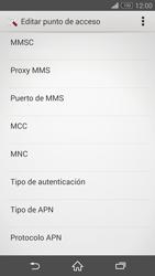 Sony Xperia Z3 - Internet - Configurar Internet - Paso 11