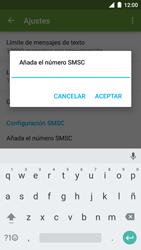 BQ Aquaris U - Mensajería - Configurar el equipo para mensajes de texto - Paso 7