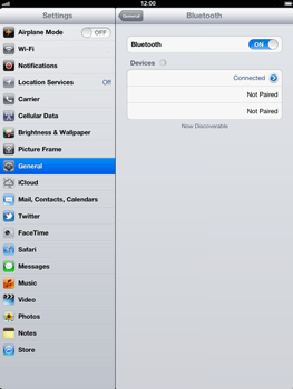 Apple The New iPad - Bluetooth - Pair with another device - Step 9