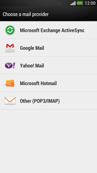 HTC One - E-mail - Manual configuration POP3 with SMTP verification - Step 6