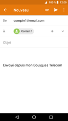 Crosscall Core X3 - E-mails - Envoyer un e-mail - Étape 8