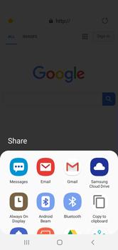 Samsung Galaxy S10e - Internet - Internet browsing - Step 24
