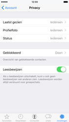 Apple iPhone 7 (Model A1778) - Privacy - Maak WhatsApp veilig en beheer je privacy - Stap 16