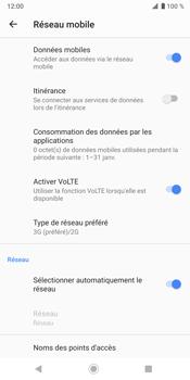 Sony Xperia XZ3 - Réseau - activer 4G - Étape 7