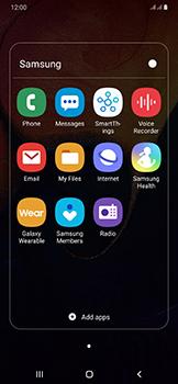 Samsung Galaxy A50 - SMS - Manual configuration - Step 4
