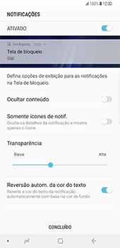 Samsung Galaxy S9 Plus - Segurança - Como ativar o código de bloqueio do ecrã -  11