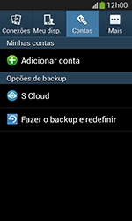 Samsung Galaxy Grand Neo - Funções básicas - Como restaurar as configurações originais do seu aparelho - Etapa 7