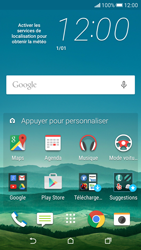 HTC Desire 626 - Messagerie vocale - Configuration manuelle - Étape 1