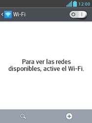 LG Optimus L3 II - WiFi - Conectarse a una red WiFi - Paso 5