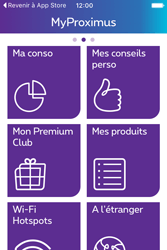Apple iPhone 4 S iOS 9 - Applications - MyProximus - Étape 16