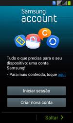 Samsung Galaxy Fresh Duos - Primeiros passos - Como ligar o telemóvel pela primeira vez -  11