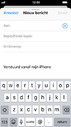 Apple iphone-5s-ios-12 - E-mail - Bericht met attachment versturen - Stap 4