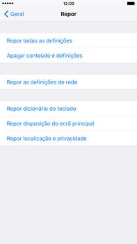 Apple iPhone 6s Plus - Repor definições - Repor definições de fábrica do telemóvel -  6