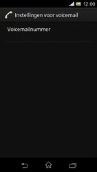 Sony C1905 Xperia M - Voicemail - handmatig instellen - Stap 11