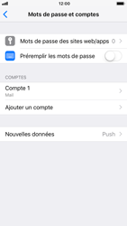 Apple iPhone 6 - iOS 12 - E-mail - Configuration manuelle - Étape 17