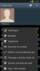 Samsung Galaxy Note 2 - Contact, Appels, SMS/MMS - Ajouter un contact - Étape 10