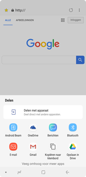 Samsung Galaxy A7 (2018) - Internet - hoe te internetten - Stap 22