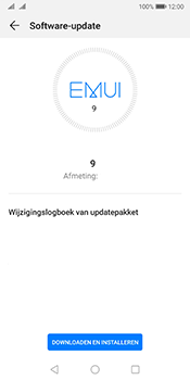 Huawei Mate 10 Pro Dual-SIM (Model BLA-L29) - Android Pie - Software updaten - Update installeren - Stap 6
