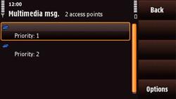 Nokia N97 Mini - MMS - Manual configuration - Step 13