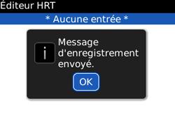 BlackBerry 8520 Curve - Paramètres - Reçus par SMS - Étape 7