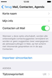Apple iPhone 4S (iOS 9) - contacten, foto