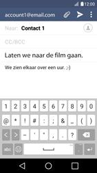 LG K4 - E-mail - Hoe te versturen - Stap 10