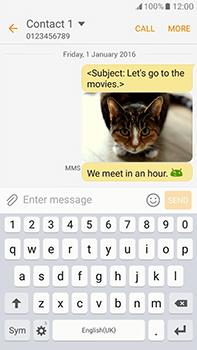 Samsung Galaxy J7 (2016) (J710) - Mms - Sending a picture message - Step 23
