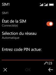 Nokia 3310 - Sécuriser votre mobile - Personnaliser le code PIN de votre carte SIM - Étape 8