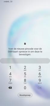 Samsung galaxy-note-10-dual-sim-sm-n970f - Beveiliging en ouderlijk toezicht - PUK code invoeren - Stap 4