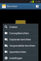 Samsung S6790 Galaxy Fame Lite - SMS - handmatig instellen - Stap 5