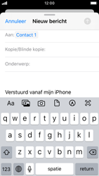 Apple iPhone SE - iOS 13 - E-mail - Bericht met attachment versturen - Stap 6