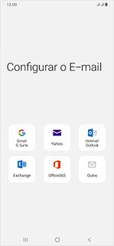 Samsung Galaxy A50 - Email - Como configurar seu celular para receber e enviar e-mails - Etapa 6