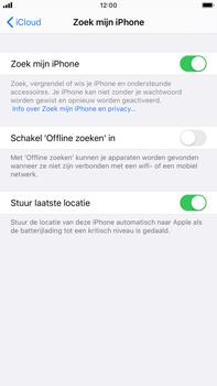 Apple iphone-6s-plus-met-ios-13-model-a1687 - Beveiliging en ouderlijk toezicht - Zoek mijn iPhone inschakelen - Stap 13
