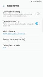 Samsung Galaxy S6 Edge - Android Nougat - Internet no telemóvel - Como ativar 4G -  8