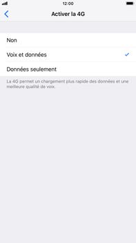 Apple iPhone 8 Plus - iOS 12 - Réseau - Activer 4G/LTE - Étape 7