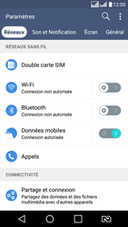 LG K8 - Messagerie vocale - configuration manuelle - Étape 5