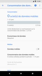 Google Pixel 2 - Internet - Activer ou désactiver - Étape 7