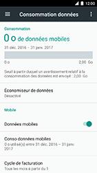 Motorola Moto C Plus - Internet et connexion - Désactiver la connexion Internet - Étape 5