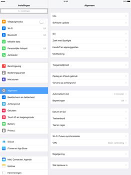 Apple iPad Pro 12.9 (1st gen) - iOS 9 - WiFi en Bluetooth - Handmatig instellen - Stap 3