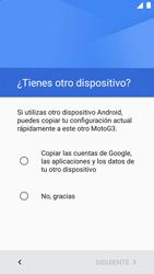 Motorola Moto G 3rd Gen. (2015) (XT1541) - Primeros pasos - Activar el equipo - Paso 9