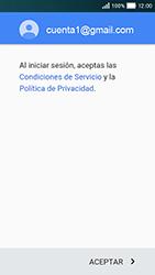 Huawei Y5 - E-mail - Configurar Gmail - Paso 13