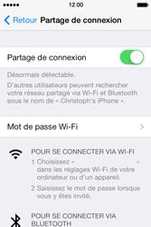 Apple iPhone 4S - Internet et connexion - Utiliser le mode modem par USB - Étape 8