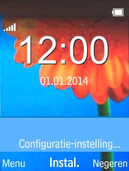 Nokia 220 - Automatisch instellen - Automatisch Internet instellen - Stap 3