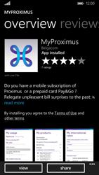 Nokia Lumia 830 - Applications - MyProximus - Step 9
