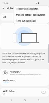 Samsung galaxy-s10-plus-dual-sim-sm-g975f - WiFi - Mobiele hotspot instellen - Stap 9