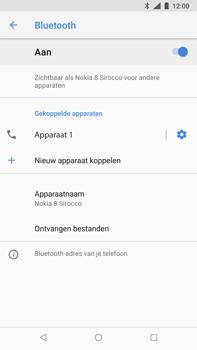 Nokia 8 Sirocco - Bluetooth - koppelen met ander apparaat - Stap 12