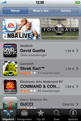 Apple iPhone 3G S - Applicaties - Downloaden - Stap 3
